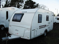 LIGHTWEIGHT TOURER WITH FIXED BED