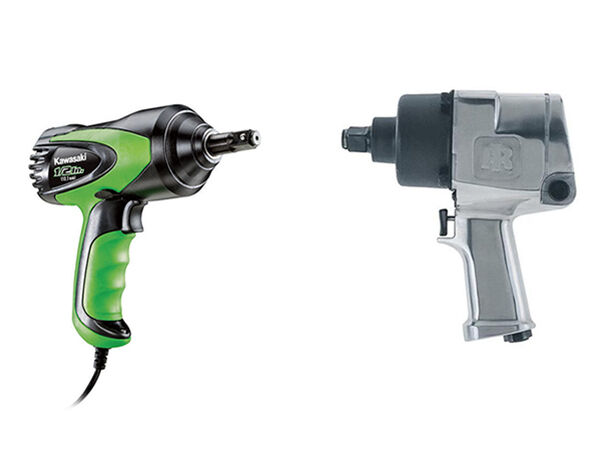 Compressed Air Impact Wrenches Vs Electric