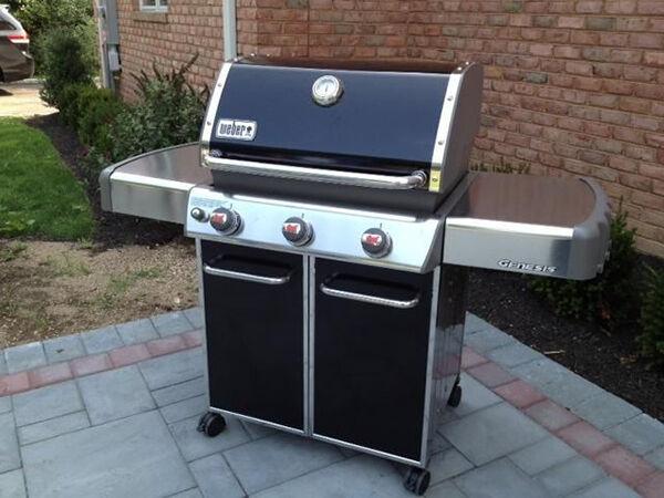 Weber Genesis Propane Gas Barbecue Grill