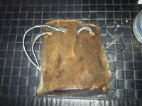 fur purses
