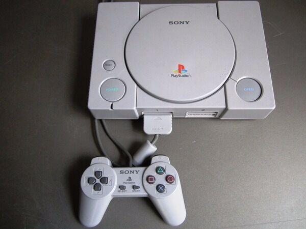 sony playstation 1. sony playstation 1 original with one game £25 playstation u