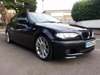BMW 330D M Sport Automatic 5 Door Black with Black leather seats