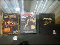 ***LOOK 3 DVDs collection for sale Eminem ALL ACCESS EUROPE, DVD , Anger Management Live , Behind T
