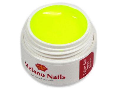 Lemon Gel (NEON Colour UV Gel Made in Germany 5ml Neon Lemon 0580)