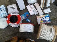 various electrical equipment