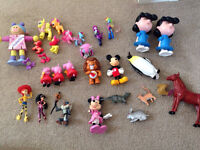 Assortment of figures cake toppers my little pony Disney