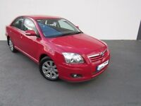 2007 TOYOTA AVENSIS 1.8 VVTI 1ZZFE MANUAL BREAKING FOR PARTS RED