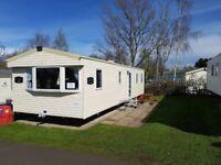 Deluxe 3 bedroom 8 berth pet freindly caravan for rent at Seton Sands