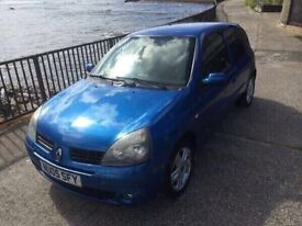 2005 05 Renault Clio dynamic mot 2017 excellent little car good condition for year