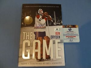 "KEN DRYDEN Signed ""The Game"" 30th Anniversary Edition GA-COA"