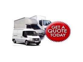 24/7 URGENT SHORT NOTICE NATIONWIDE MAN&LUTON VAN HOUSE/OFFICE REMOVAL PIANO/BIKE/DUMP/RUBBISH MOVER