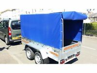 Trailers twin axle and cover