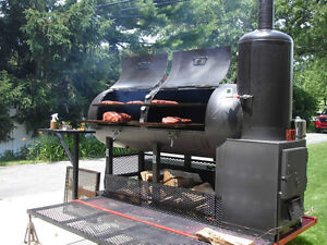 Big smoker wood:smoke,roast,grill,meat,beef,BBQ,pizza oven,pit,