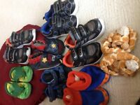 Gently used baby boy shoes... Too good to throw out
