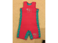 Mothercare Girls Thermal Infant Wetsuit 4-5 years