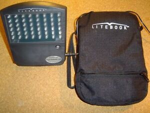 Litebook, model 1.2, White LED Light Therapy Lamp   ALMOST NEW,