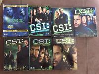 CSI seasons 1-7 DVDs
