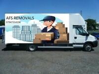 Urgent Professional Removals/Deliveries Hire Man& Van Company Luton/7.5 Ton Commercial/Domestic Move
