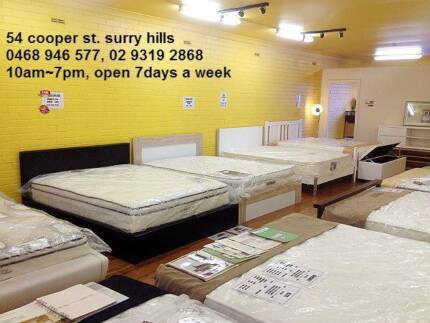 Modern Design Bedding, Brand New Mattress and Bed Base/Frame Maroubra Eastern Suburbs Preview