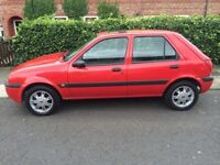 2001 Ford Fiesta 1.3 cc mot 2017 excellent little car drives fantastic in good condition