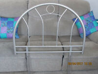 Metal Single Bed Headboard