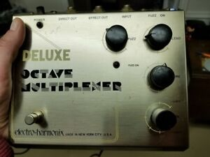 1970's Vintage EH Octave Multiplexer with Fuzz (4 knob)