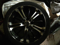 """17"""" Rim and Tire Package"""