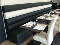 Bespoke - Made To Order - Booth Seating - Fixed Seating - Bench Seating - Furniture - Contract