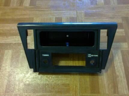 Reversed European TA23 radio fascia & console shell