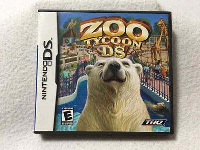 Zoo Tycoon Nintendo DS Game Complete Animals, used for sale  Shipping to South Africa