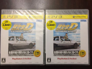 BRAND NEW AND FACTORY SEALED Initial D Extreme Stage ps3