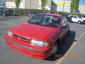 1992 TOYOTA TERCEL FOR PARTS