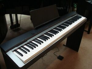 Casio Piano PX-135 with Stand , pedal, power adapter (88 keys)