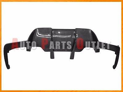 V Type Carbon Fiber Rear Bumper Diffuser For 2012 2017 BMW F06 F12 F13 M6 Only