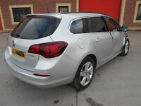 2015 Vauxhall Astra 2.0 Cdti - DAMAGED REPAIRABLE SALVAGE