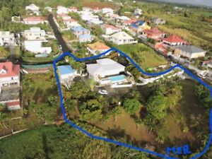 Guadeloupe : 2 villas moderne parc 2600 m2 vue spectaculaire MER