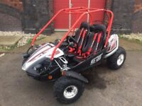 Hammerhead 150 GTS PLATINUM Off Road Two Seater Buggy (Four Months Old) 8yrs to ADULT