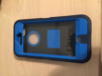 Blue IPhone 5 Otter Box Defender
