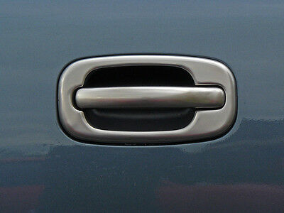 CHEVROLET AVALANCHE SUV 2002-2006 TFP BRUSHED DOOR HANDLE COVER - 2 KEYHOLE