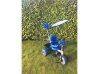 Kids blue trike