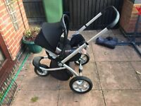 Mothercare My3 buggy frame with Maxi Cosi Car Seat