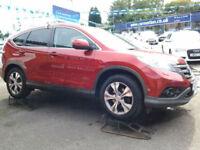 Honda CR-V 2.2 i-DTEC EX Auto (FULL LEATHER+SAT NAV+GLASS ROOF)