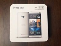 New HTC One M8 Silver 16GB Android New Phone sealpack