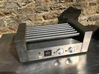 Rotary hot dog cooker