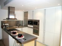 - 30th floor one double bedroom designer furnished luxury apartment in No.1 West India Quay!