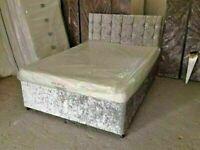 ☀️ SALE ON CRUSH VELVET DIVAN BEDS & GOOD COMFORTABLE MATTRESSES IN STOCK NOW☀️