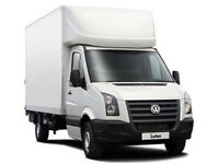 CHEAP MAN & VAN RUBBISH COLLECTION WASTE DISPOSAL JUNK COLLECTION LUTON VAN HIRE BIKE RECOVERY