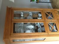New Canadel Maple Hutch