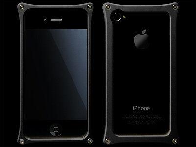 Abee Aluminum Jacket For iPhone 4 Sort 03 Black