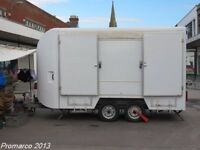 Exhibiton Trailer 3.6m Lynton with Generator